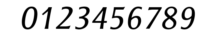 ResavskaBGSans-Italic Font OTHER CHARS