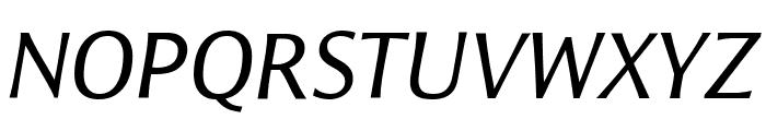 ResavskaBGSans-Italic Font UPPERCASE