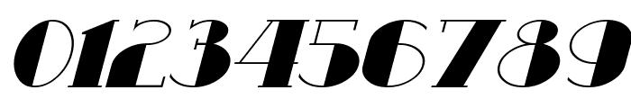 Resavy Italic Font OTHER CHARS