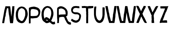 Resistance Until The End Font UPPERCASE