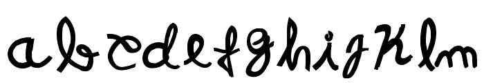 Resistance Until The End Font LOWERCASE