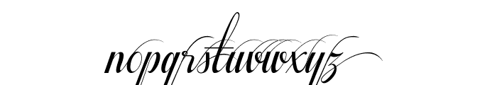 Respective Swashes Font LOWERCASE