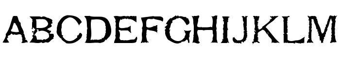Respess Capitals Medium Font LOWERCASE