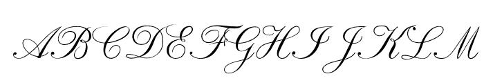 RespighiOpti-Script Font UPPERCASE