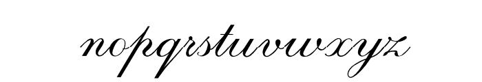 RespighiOpti-Script Font LOWERCASE
