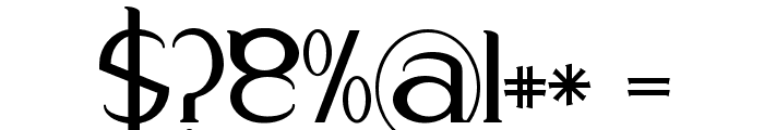 Respingo Font OTHER CHARS