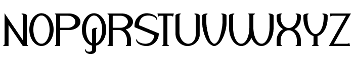Respingo Font UPPERCASE