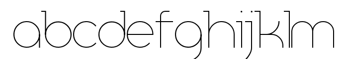 Resselle Font LOWERCASE