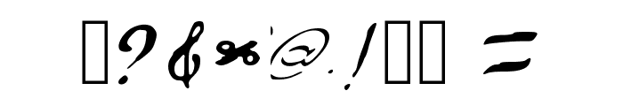 Resumesarea.com Regular Font OTHER CHARS