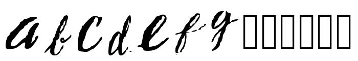 Resumesarea.com Regular Font LOWERCASE