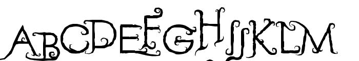 Retak Seribu Font UPPERCASE
