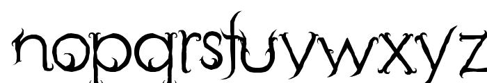 Retak Seribu Font LOWERCASE