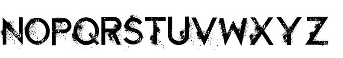 Retaliation Regular Font UPPERCASE