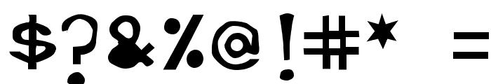 Retardo Bottle Font OTHER CHARS