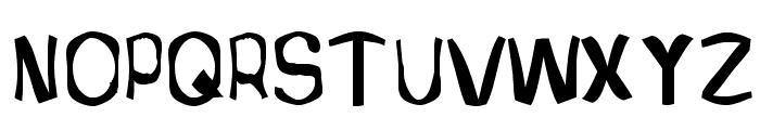 Retardo Bottle Font UPPERCASE