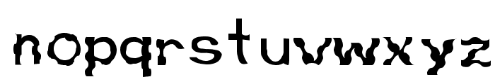 Retardo Bunyons Font LOWERCASE