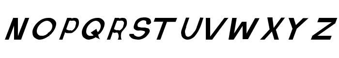Retardo Italic Font UPPERCASE