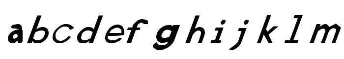 Retardo Italic Font LOWERCASE