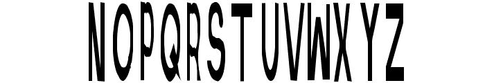 Retardo Scarecrow Font UPPERCASE