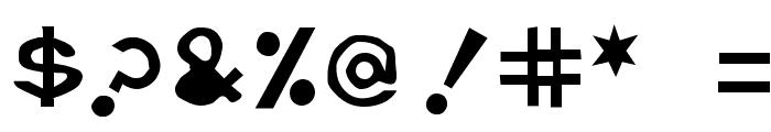 Retardo Tipsy Font OTHER CHARS
