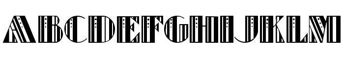 Retro Elite Font UPPERCASE