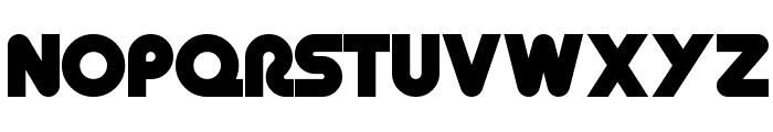 Retro Mono Wide Font UPPERCASE