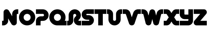 Retro Mono Wide Font LOWERCASE