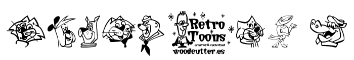 Retro Toons Font OTHER CHARS