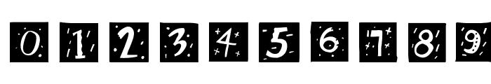 RetroCapsWB Font OTHER CHARS