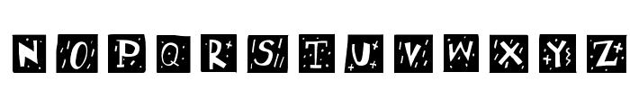 RetroCapsWB Font UPPERCASE