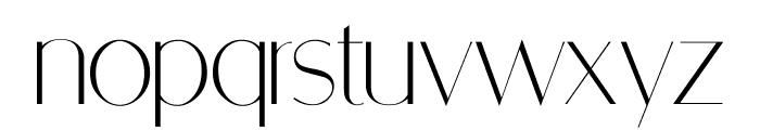 RetroSuperSkinny Font LOWERCASE