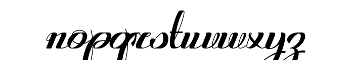 Retroactive_demo-version Font LOWERCASE