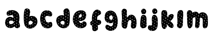 RetrofieldDemoTextured Font LOWERCASE