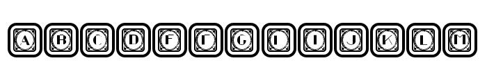 Retrospective Capitals 10 Regular Font LOWERCASE
