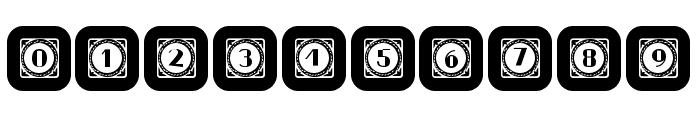 Retrospective Capitals 11 Regular Font OTHER CHARS