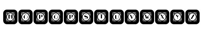 Retrospective Capitals 11 Regular Font LOWERCASE