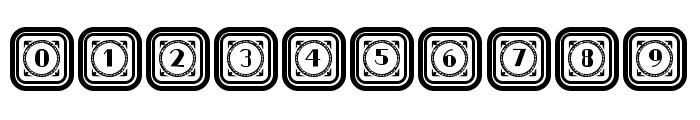 Retrospective Capitals 2 Regular Font OTHER CHARS