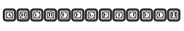 Retrospective Capitals 2 Regular Font UPPERCASE