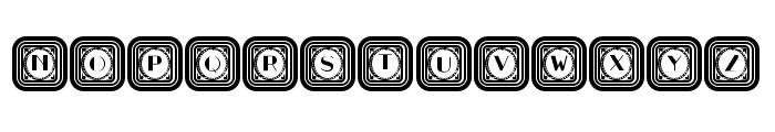 Retrospective Capitals Regular Font UPPERCASE
