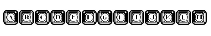 Retrospective Capitals Regular Font LOWERCASE