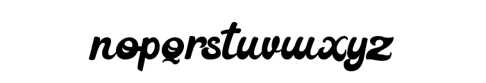 Retrovert Font LOWERCASE