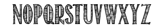 Return To Sender Font UPPERCASE