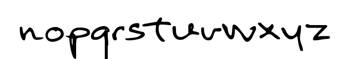 Return of RelayScript Font LOWERCASE