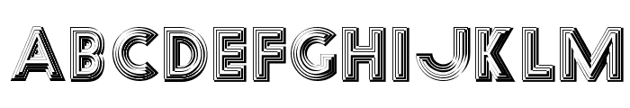 Reverb Font UPPERCASE