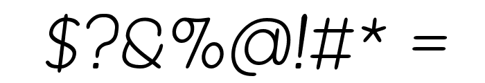 Revofit by Drakoheart - Diagonal Font OTHER CHARS