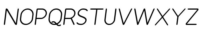 Revofit by Drakoheart - Diagonal Font UPPERCASE
