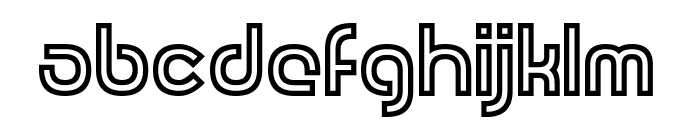 Revolution Will Be Hypnotised Font LOWERCASE