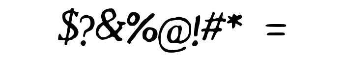 Revolution_Script Font OTHER CHARS