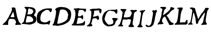 Revolution_Script Font UPPERCASE