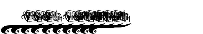 Revorioum Font OTHER CHARS